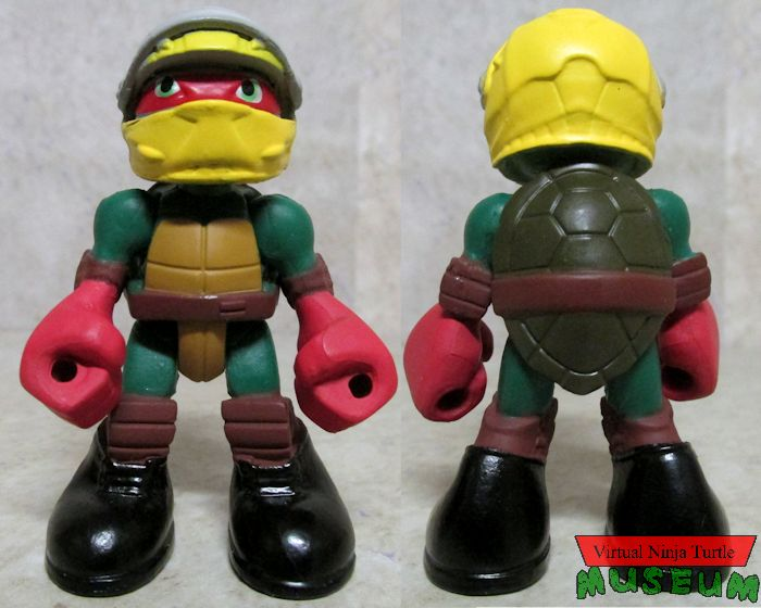 Racer Raph front and back