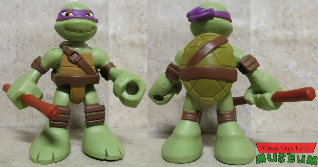 Donatello front and back