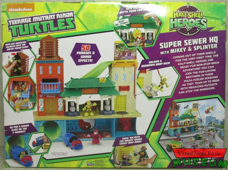 tmnt sewer lair instructions