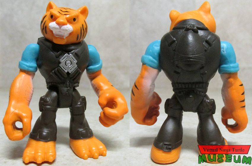 Tiger Claw front and back