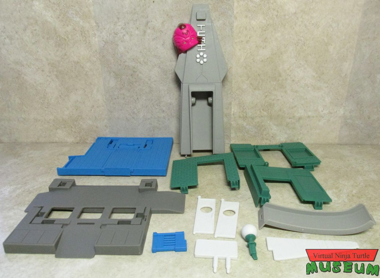 TCRI Tower parts
