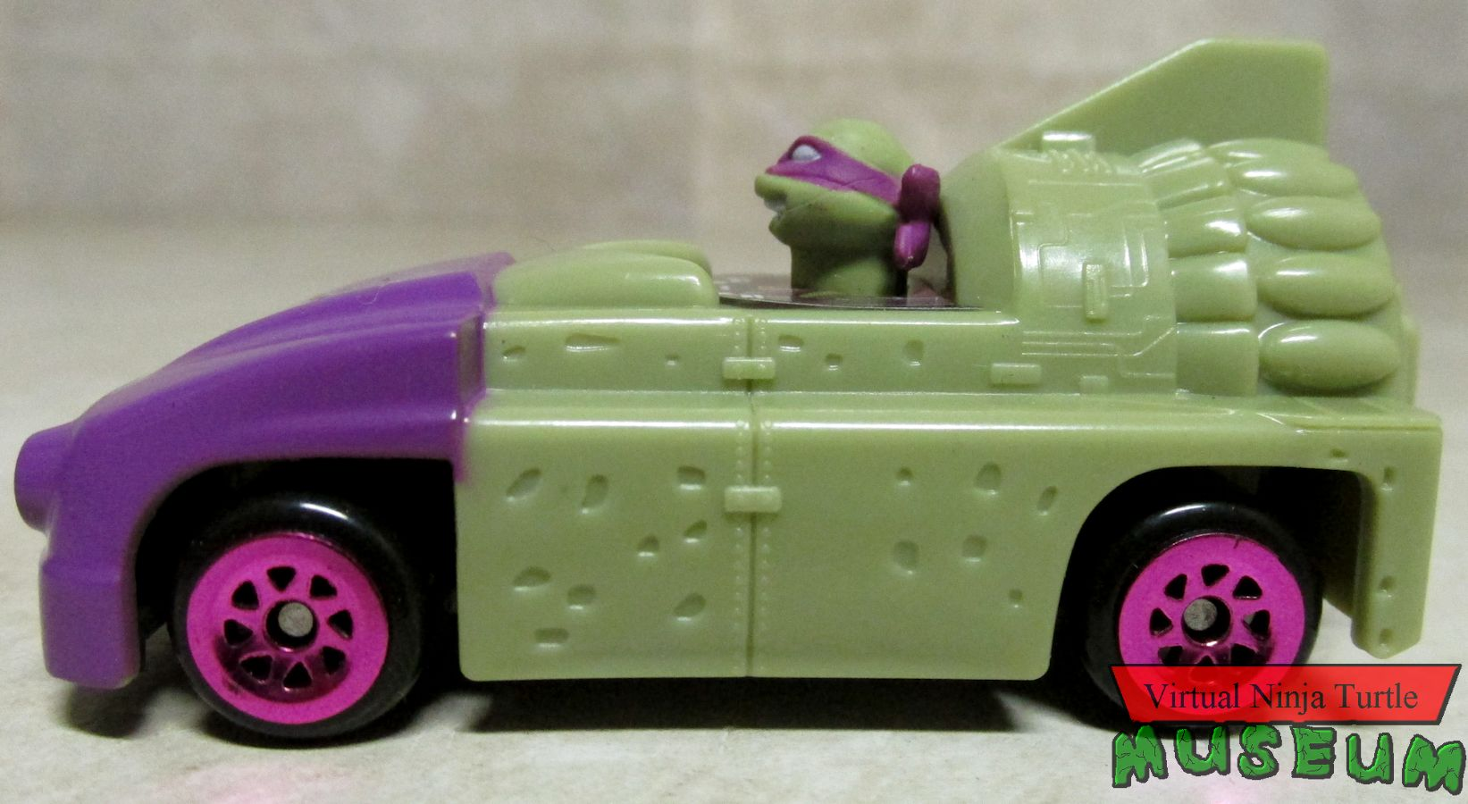 Donatello T-Rawket side view