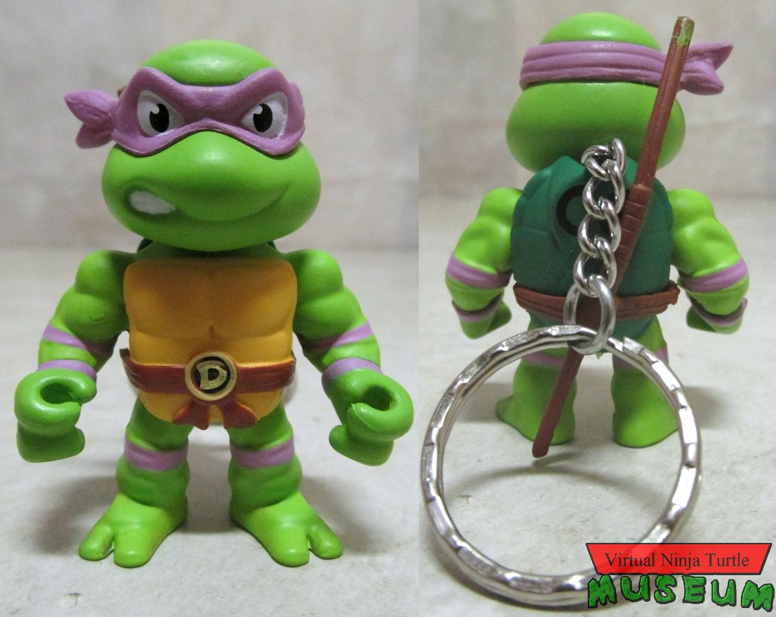 two inch Donatello front and back