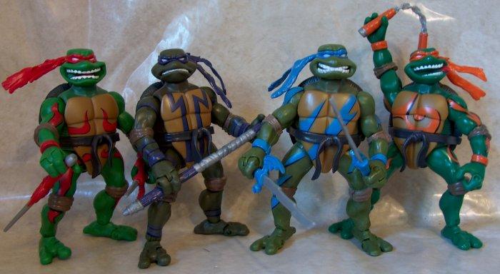 Film, TV & Videospiele Teenage Mutant Ninja Turtles TMNT Robo Hunter Raphael 2003 Playmates