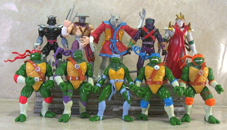 The Ninja Turtles Next Mutation Toys : Next mutation figures